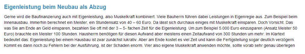Finanzierung  Eigenleistung aus  Bingen (Rhein)